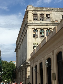 Old Havana building needing 'rehabilitation' 2016